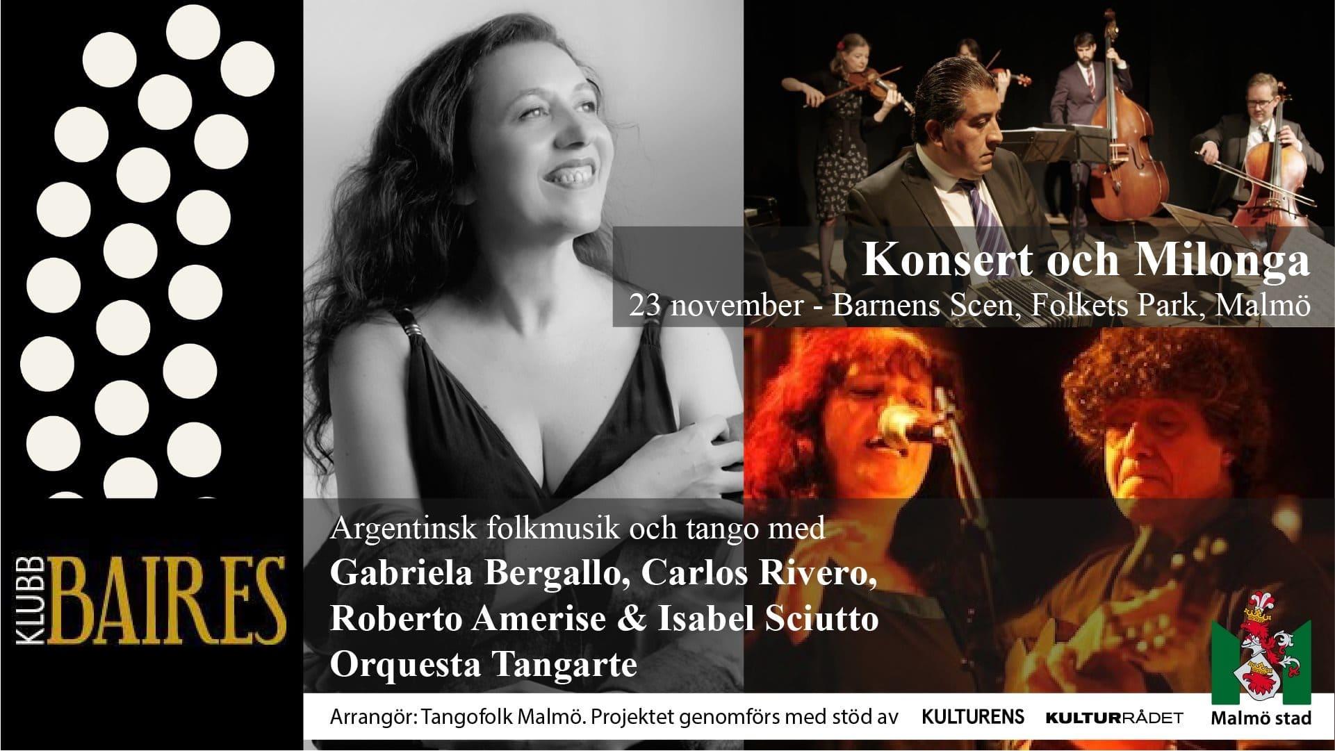 Konsert och Milonga
