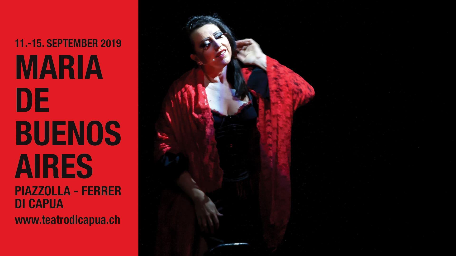 Tango Operita  María de Buenos Aires 2019