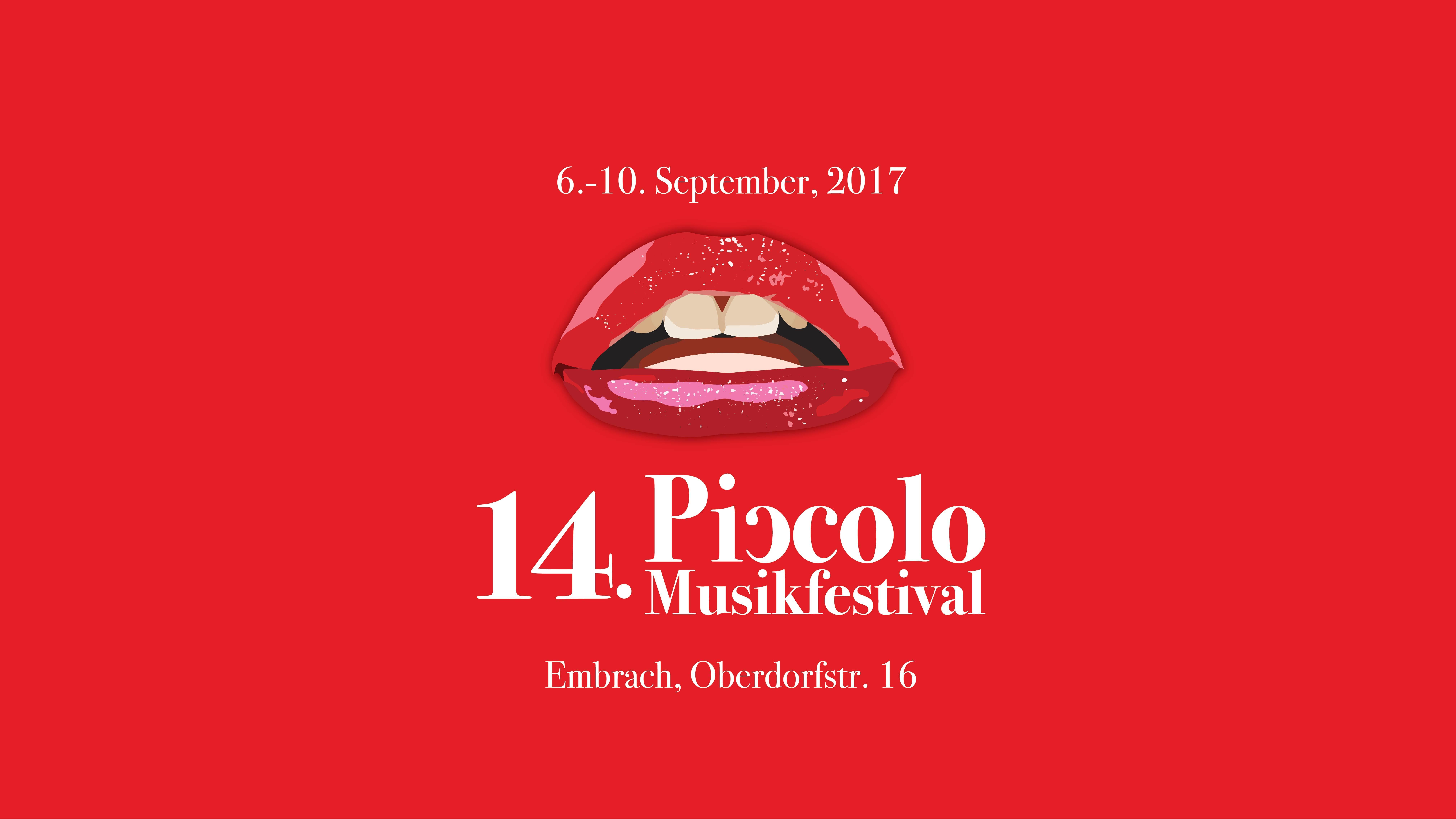 14. Piccolo Musikfestival 2017