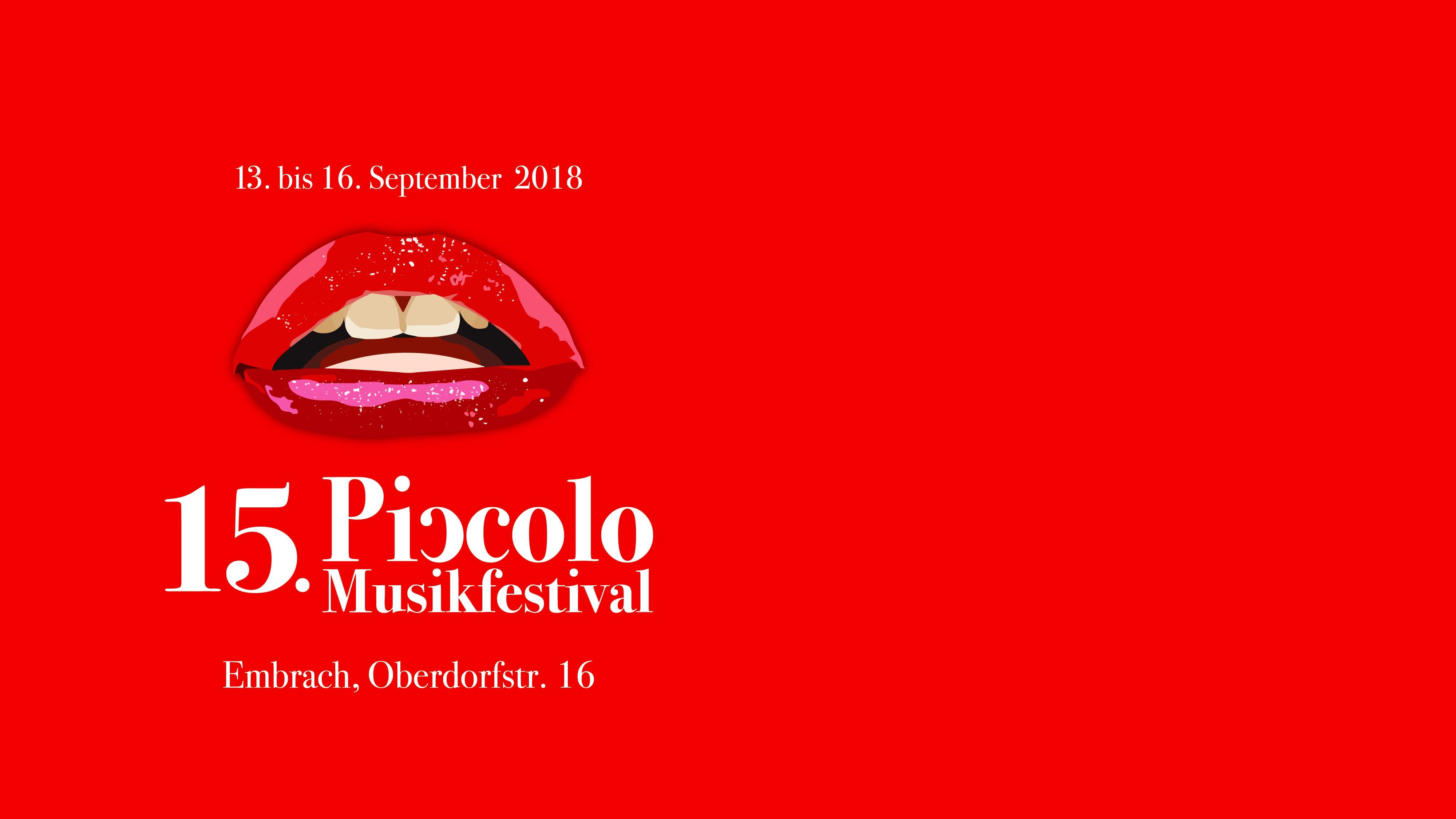 15. Piccolo Musikfestival 2018